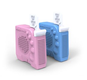 Pink And Blue Device