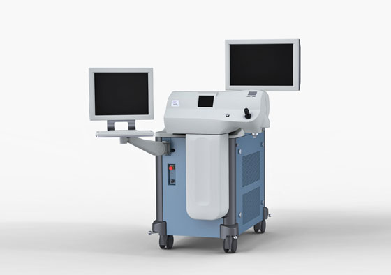 Medical Device with Two Screens