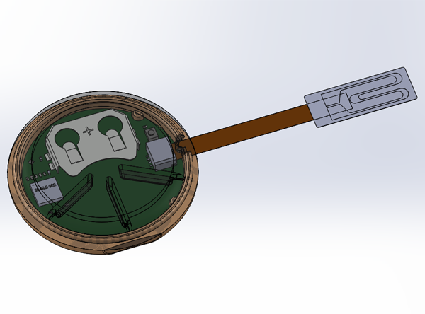 Mockup of Medical Device