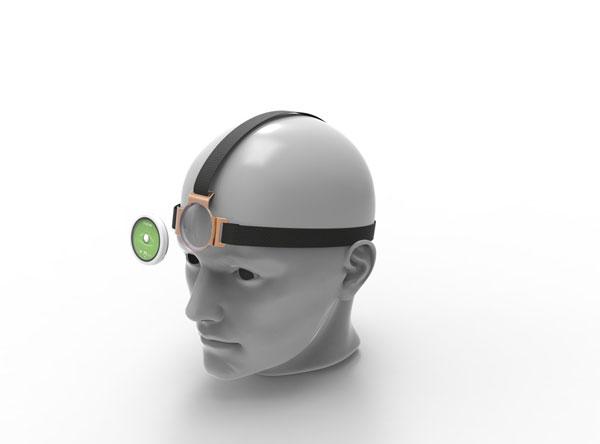 Head with Wellness Sensor