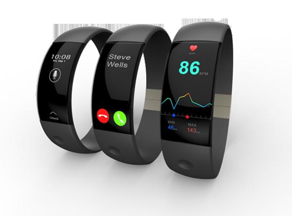 Three Wrist Monitors