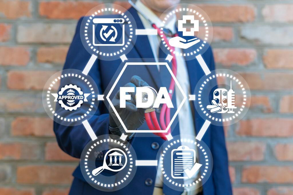 man touching fda classification of device node